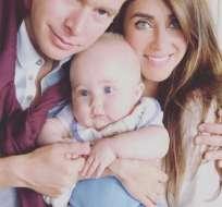 La cantante y su esposo dedicaron publicaciones a su hijo en redes sociales. Foto: Instagram Anahí