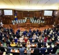 PRISTINA, Kosovo.-Kosovo proclamó su independencia de Serbia en 2008 y ésta ha sido reconocida por más de 110 países. Foto: AFP.