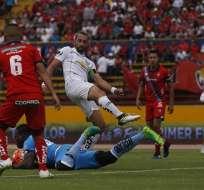 El Nacional derrotó a Liga de Quito, que pudo llegar al empate transitorio.