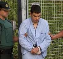 """Los sospechosos fueron imputados de """"integración en organización terrorista"""". Foto: AFP"""