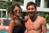 Messi y Roccuzzo se casaron en Rosario el 30 de junio pasado. Foto: Tomada de la cuenta de Instagram @leomessi