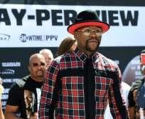 El boxeador estadounidense nunca ha perdido una pelea profesional. Foto: AFP