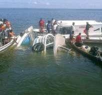SAO PAULO, Brasil.- Este es el segundo accidente fatal que ocurre en último mes en ríos del estado de Pará. Foto: Tomado de Notiminuto.