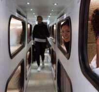 Los pasajeros de Cabin pueden disfrutar de 8 horas de sueño mientras se trasladan entre Los Ángeles y San Francisco.