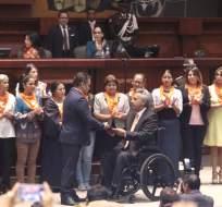 QUITO, Ecuador.- El presidente del legislativo anunció que se creará comisión especializada para su análisis. Foto: API