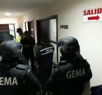 En la capital de la República hubo detenciones, según reporta la Fiscalía General del Estado. Foto: Twitter Fiscalía