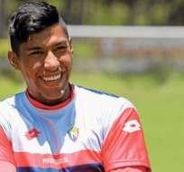 El defensor ecuatoriano Luis Segovia fue inscrito en Argentina por Talleres de Córdoba.