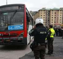 QUITO, Ecuador.- Paro ocasionó molestias a la ciudadanía en la capital ecuatoriana. Foto: API.