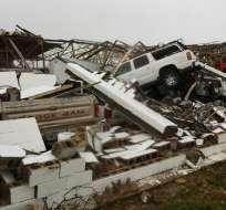 A los pueblos y ciudades golpeados por el huracán Harvey les tomará años recuperarse. Foto: AFP