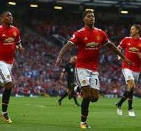 Los 'diablos rojos' han ganado los tres partidos que han disputado en la Premier League. Foto: AFP