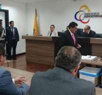 El Tribunal de la Corte Provincial de Pichincha tomó la decisión. Foto: Tomada de la cuenta Twitter @FiscaliaEcuador