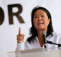"""Keiko Fujimori """"está a disposición de las diligencias programadas por la Fiscalía"""". Foto: larazon.pe"""