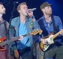 Coldplay en concierto en Miami. Foto: N10Entretenimiento
