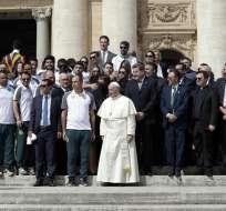 La delegación del Chapecoense se encuentra en Italia donde jugará un amistoso con la Roma.