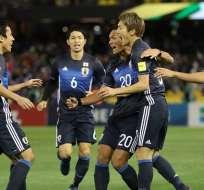 El combinado japonés se convirtió en la cuarta selección en acceder a Rusia 2018.