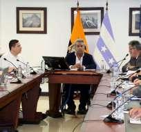GUAYAQUIL, Ecuador.- El presidente Moreno se reunión con representantes del gremio constructor en Guayaquil. Fotos: API y Flickr Presidencia.