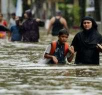 El sudeste de Asia vive sus peores inundaciones en décadas. Foto: BBC