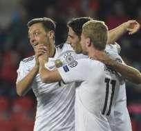 Los alemanes han ganado los 7 partidos que han disputado en estas eliminatorias europeas. Foto: AFP