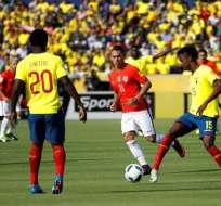 Luis Caicedo y Jefferson Orejuela podrán jugar el martes ante el combinado peruano.