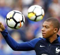 El francés es el segundo jugador más joven en anotar dos goles en eliminación directa. Foto: Archivo/AFP