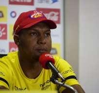 Máximo Banguera tuvo una destacada actuación en el cotejo ante Brasil.