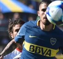 Boca Juniors venció por la mínima diferencia a River Plate con gol de Junior Benítez.
