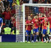 España goleó a Italia y es líder en el Grupo G de la clasificatoria europea a Rusia 2018.