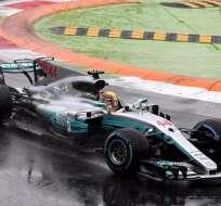 El inglés Lewis Hamilton logró un récord de poles, llegó a 69 en su carrera.
