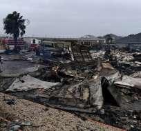 HOUSTON, EE.UU.- Los daños estimados por gobierno estadounidense ascienden a 100 mil millones de dólares. Foto: AFP.