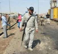 SAMARRA, Irak.- 12 personas también resultaron heridas en el ataque por parte de hombres armados. Foto: AFP.