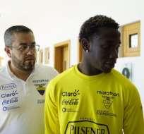 El 'Kunty' Caicedo cumplió su suspensión y podrá jugar el martes ante Perú.