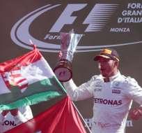 Lewis Hamilton es el nuevo líder de la clasificación al ganar el Gran Premio de Italia.