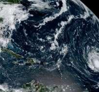 USA.- Huracán Irma avanzando hacia el Caribe. Foto: AFP