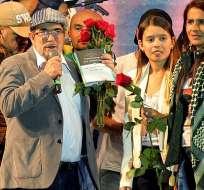 BOGOTÁ, Colombia.- El partido escogió al Consejo Nacional de los Comunes, formado por 15 miembros. Foto: AFP.