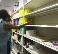 En el Caribe, se emitieron alertas por huracán para 12 archipiélagos. Foto: AFP