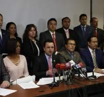 QUITO, Ecuador.- Entre las pruebas se incluyen los correos electrónicos filtrados entre Jalkh y Rafael Correa. Foto: API