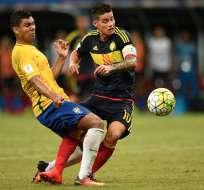 La selección de Brasil se llevó un empate en su visita al Metropolitano de Barranquilla.
