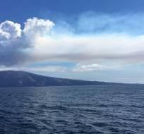 Autoridades vigilan que barcos turísticos mantengan la seguridad en el área. Foto: Sócrates Tomalá