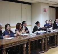 Durante la audiencia, juez ratificó orden de prisión y de extradición del procesado. Foto: Twitter Fiscalía