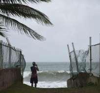 INTERNACIONAL.- Tras asolar San Bartolomé y San Martín, Irma tomó rumbo hacia Puerto Rico y Haití. Foto: AP