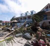 Autoridades reportan que Irma dejó 10 muertos en San Martín, Barbuda e Islas Vírgenes. Foto: AFP