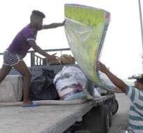 En el extremo oriental de Cuba ya comienzan a sentirse las primeras marejadas provocadas por Irma. Foto: venceremos.cu