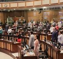 El pedido de tratar llamado a consulta obtuvo 65 votos en contra y 1 abstención. Foto: Flickr Asamblea