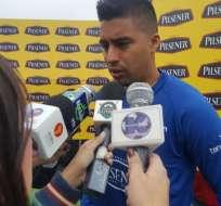 Cristhian Noboa se refirió a las dos derrotas de Ecuador en las eliminatorias.