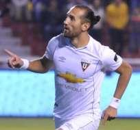 Hernán Barcos debe cumplir un partido más de suspensión tras la reducción de su sanción.