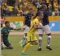 Damián Díaz anotó el gol de descuento para el elenco ´torero' en su visita a Independiente.