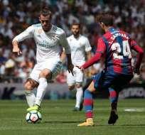 Real Madrid no pudo en casa y apenas rescató un empate ante el Levante por la Liga española.