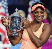 Sloane Stephens, con 24 años, es la nueva campeona del último Grand Slam del año.