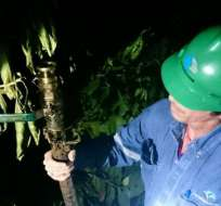 """Petroecuador asegura que """"no existe derrame ni contaminación ambiental"""". Foto: Petroecuador"""