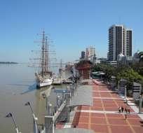 El evento de premiación se desarrolló en México. Foto: Municipio de Guayaquil